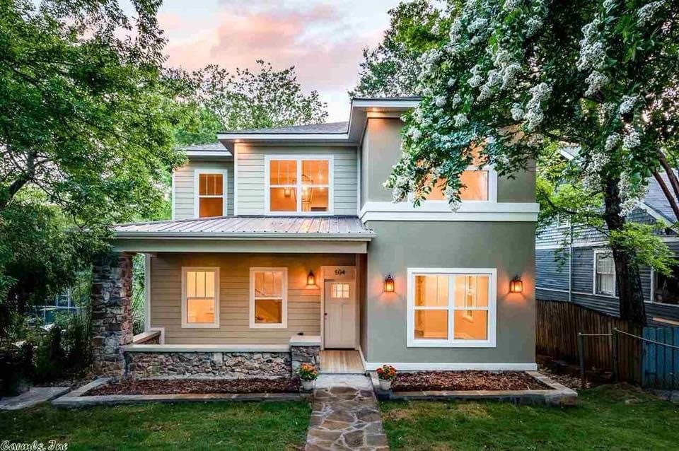 A home in Little Rock AR bought with a quick house sale